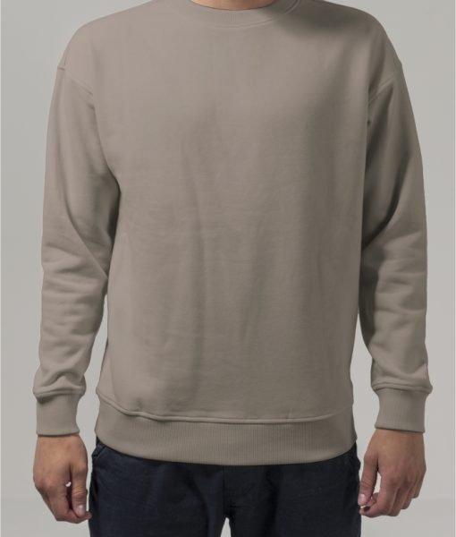 Bluza sport cu maneca lunga nisip Urban Classics – Barbati – Urban Classics>Colectie noua>Barbati