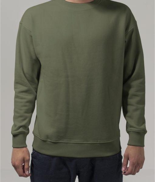 Bluza sport cu maneca lunga oliv Urban Classics – Barbati – Urban Classics>Colectie noua>Barbati