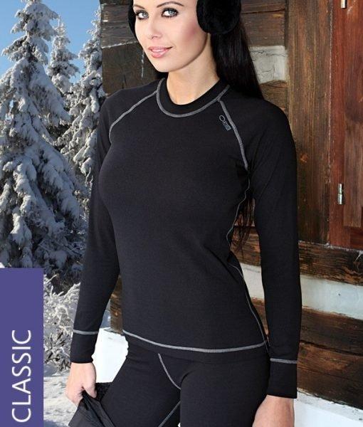 Bluza termica Classic1 – Lenjerie pentru femei – Lenjerie functionala