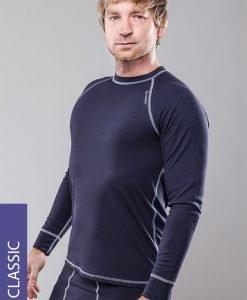 Bluza termica barbateasca Classic - gri - Promotii - Promotiile saptamanii