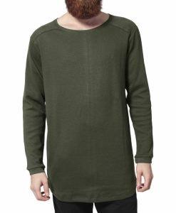 Bluze cu maneca lunga waffle oliv Urban Classics - Bluze cu maneca lunga - Urban Classics>Barbati>Bluze cu maneca lunga