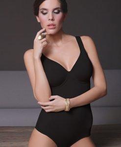 Body cu sutien incorporat Rori Black - Lenjerie pentru femei - Body-uri