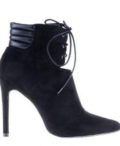 Botine dama Seibold negre - Incaltaminte Dama - Botine Dama