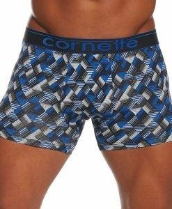 Boxeri barbatesti HE 50857 albastru - Lenjerie pentru barbati - Boxeri multicolori