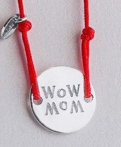 Brățară WOW MOM argint - Produse > Cadouri WoW > Bijuterii WoW -