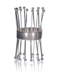 Bratara argintie supradimensionata Argintiu - Accesorii - Accesorii / Bratari