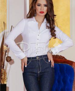 Camasa White Melisa - Haine - Bluze/Camasi