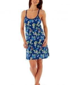 Camasa de noapte Blue Parrot - Lenjerie pentru femei - Camasi de noapte