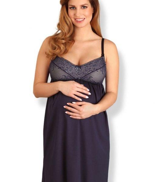 Camasa de noapte pentru sarcina si alaptare Susan – Lenjerie pentru femei – Lenjerie pentru gravide si mamici