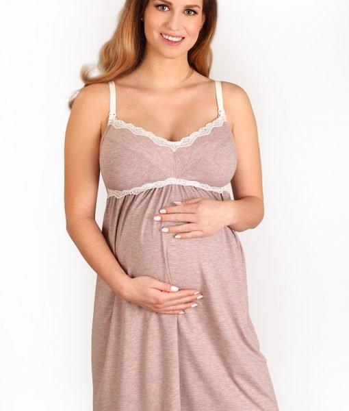 Camasa de noapte sarcina si alaptare Laura – Lenjerie pentru femei – Lenjerie pentru gravide si mamici