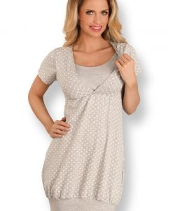 Camasa de noapte sarcina si alaptare Noemi II - Lenjerie pentru femei - Lenjerie pentru gravide si mamici