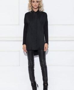 Camasa neagra casual Negru - Imbracaminte - Imbracaminte / Camasi