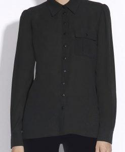 Camasa neagra cu buzunar Negru - Imbracaminte - Imbracaminte / Camasi