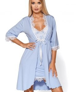 Capot elegant Madlen blue - Lenjerie pentru femei - Capoate