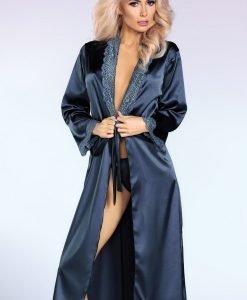 Capot satinat elegant Yasmeen - Lenjerie pentru femei - Capoate