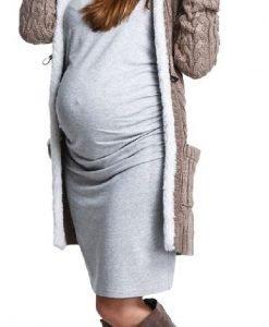 Cardigan Brown - Produse > Haine pentru gravide > Jachete/ Geci/ Pulovere -