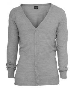 Cardigan tricot gri Urban Classics - Lichidare - Urban Classics>Lichidare