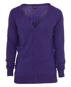Cardigan tricot mov Urban Classics - Lichidare - Urban Classics>Lichidare