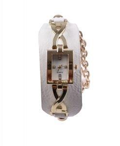 Ceas dama M5-269 argintiu cu auriu - Promotii - Lichidare Stoc