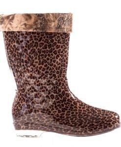 Cizme dama Pena leopard - Ultima Marime - Ultima Marime