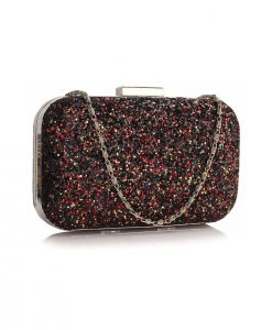 Clutch Frida Negru Multicolor - Genti -