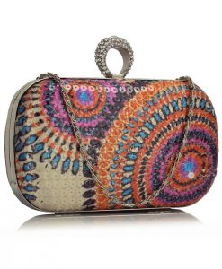 Clutch Multi Colorat - Genti -