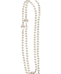 Colier cu perle Alb - Accesorii - Accesorii / Coliere