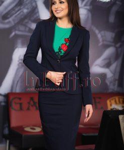 Compleu dama elegant bleumarin - COMPLEURI -