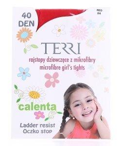 Dres copii Terri Calenta 40DEN rosu - Accesorii - Acccesorii Copii