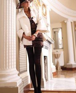 Dres elegant Glamour Soft Black - Lenjerie pentru femei - Dresuri