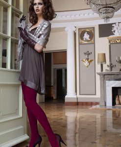 Dres elegant Glamour Soft Bordo - Lenjerie pentru femei - Dresuri
