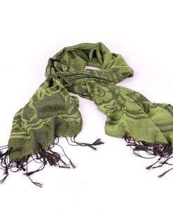 Esarfa dama Coveri - You Young 1 verde - Promotii - Lichidare Stoc