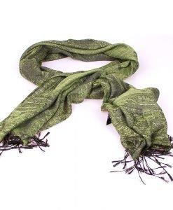 Esarfa dama Coveri - You Young 3 verde - Promotii - Lichidare Stoc