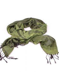 Esarfa dama Coveri - You Young 4 verde - Promotii - Lichidare Stoc