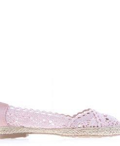 Espadrile dama B139 roz - Incaltaminte Dama - Espadrile Dama