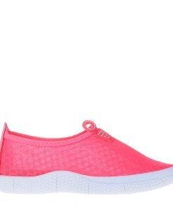 Espadrile dama Evelin roz neon - Incaltaminte Dama - Espadrile Dama