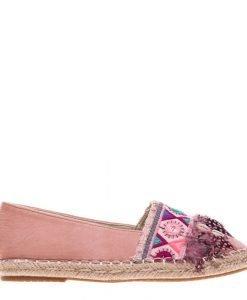 Espadrile dama Marra roz - Incaltaminte Dama - Espadrile Dama