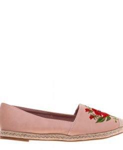 Espadrile dama Melany roz - Incaltaminte Dama - Espadrile Dama