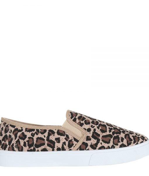 Espadrile dama Tenille leopard – Incaltaminte Dama – Espadrile Dama