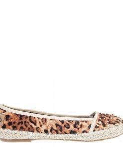 Espadrile dama Veneta bej leopard - Promotii - Lichidare Stoc