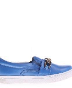 Espadrile dama Y26 albastre - Incaltaminte Dama - Espadrile Dama