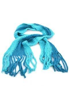 Fular dama 7143 albastru - Promotii - Lichidare Stoc