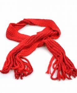 Fular dama 7143 rosu - Promotii - Lichidare Stoc