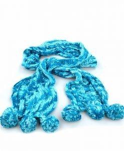 Fular dama 7146 albastru - Promotii - Lichidare Stoc