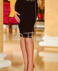 Fusta Black Elegant Lady - ROCHII -