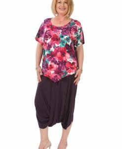 Fusta mov tip pantalon F025-MM - Marimi mari -