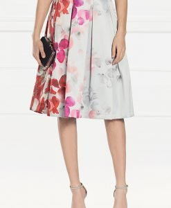 Fusta plisata cu imprimeu floral Imprimat - Imbracaminte - Imbracaminte / Fuste