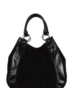 Geanta Rena neagra din piele naturala XL355 - Genti office -