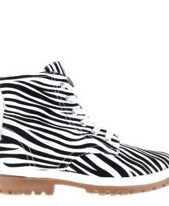 Ghete dama Cyndi zebra - Incaltaminte Dama - Ghete Dama