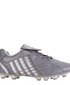 Ghete fotbal barbati Shane gri cu argintiu - Incaltaminte Barbati - Pantofi Sport Barbati